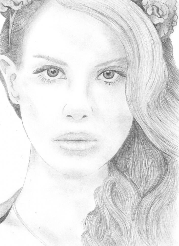 Lana Del Rey by PoppySilva
